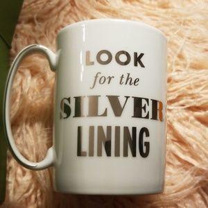 KATE SPADE Lenox Simply Sparkling mug. NIB